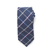Bias Windowpane Tie