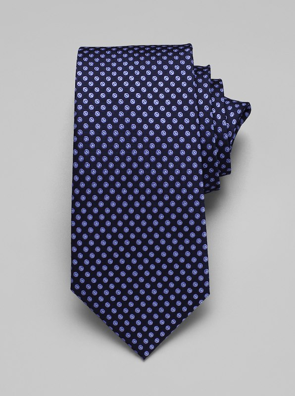 Multi Dot Tie - Blue