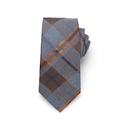 Large Plaid Tie
