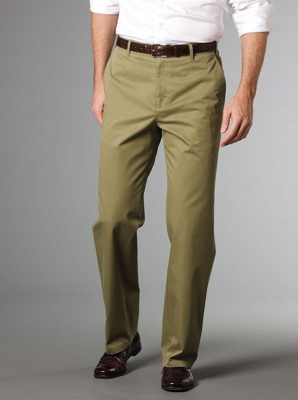 Luxury Cotton Trousers Elmwood