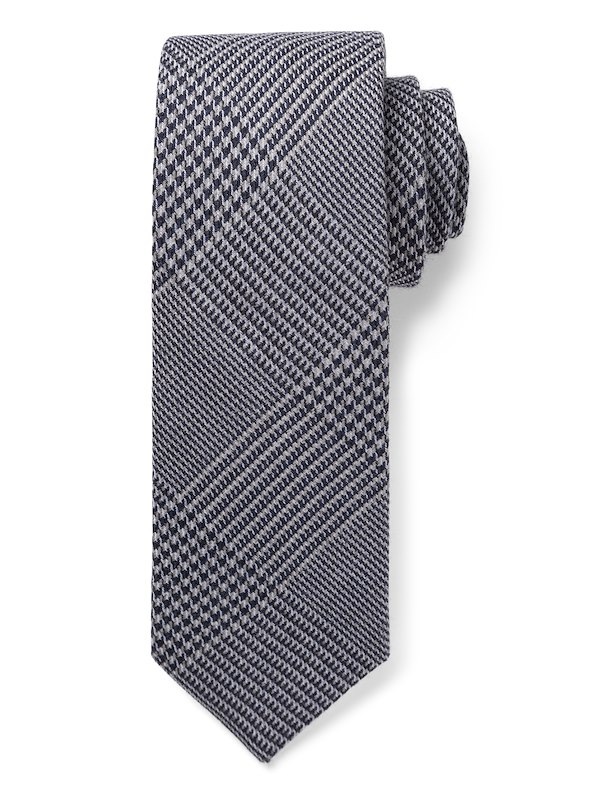 Houndstooth Plaid - Grey