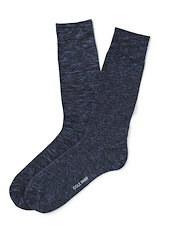 Cole Haan Cotton Twist Flat Knit - Blue Rain Heather