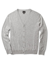 Cashmere Cardigan - Soft Grey