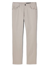 Oatmeal Brushed Twill 5-Pocket
