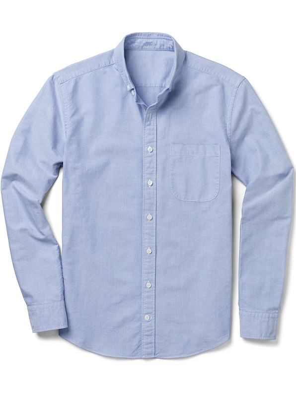 Blue Oxford Solid