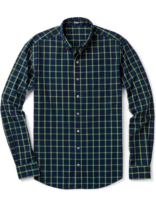Green/Blue/Yellow Tartan