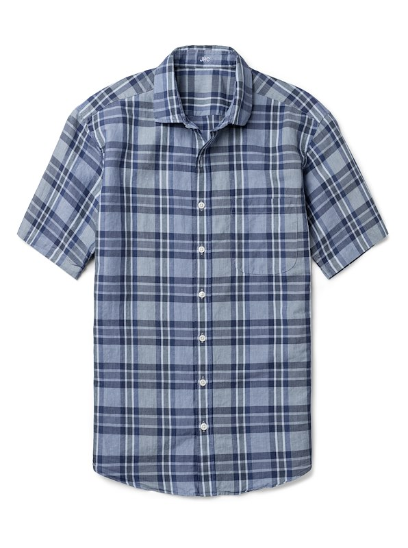 Navy/Blue Large Check