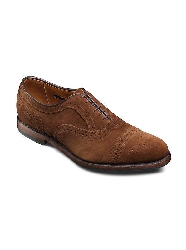 Allen Edmonds Strand - Brown Suede