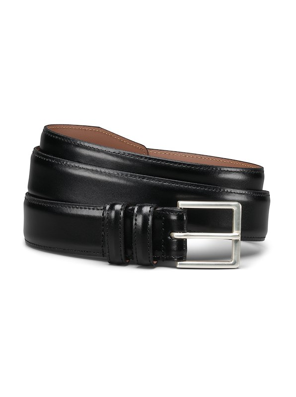 Allen Edmonds Basic Dress Belt - Black