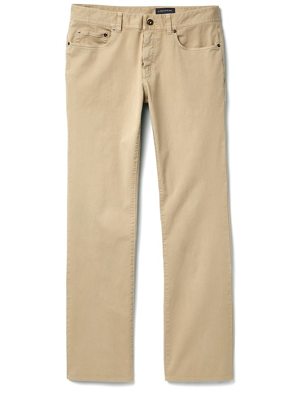 Brushed Twill 5-Pocket - Classic Fit - Khaki