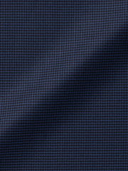Navy Houndstooth