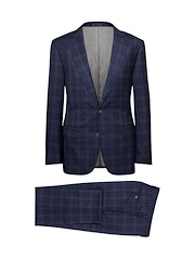 Navy/Blue Plaid