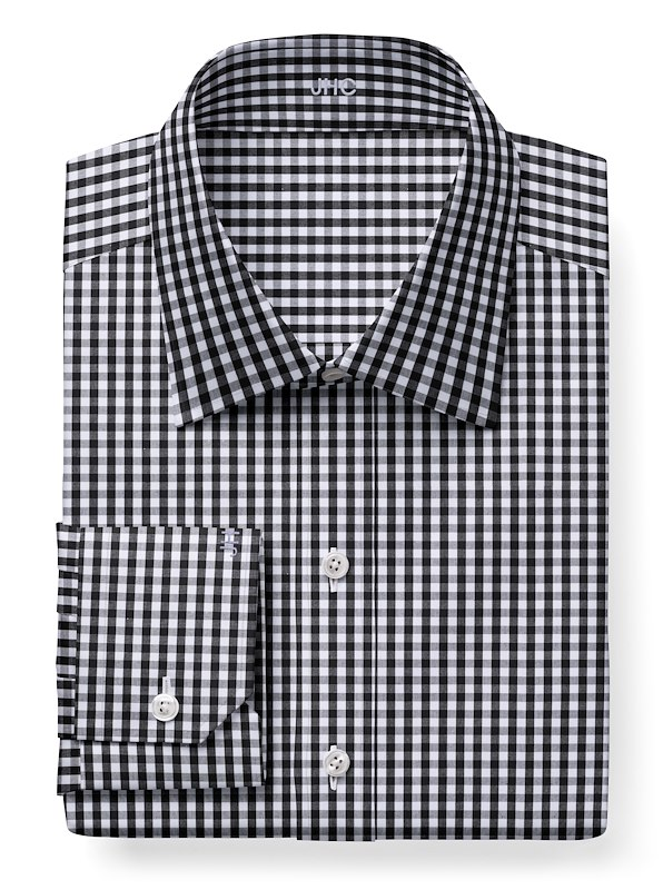 Black/White Gingham
