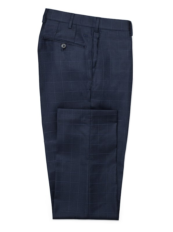 Navy/Blue Windowpane