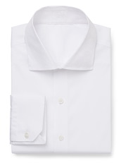 White Stretch Poplin