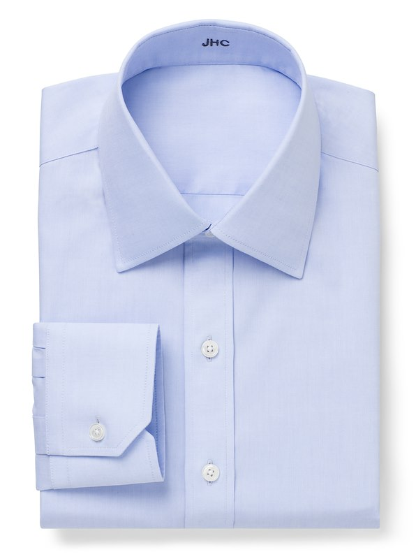 Non-Iron Blue Pinpoint Solid