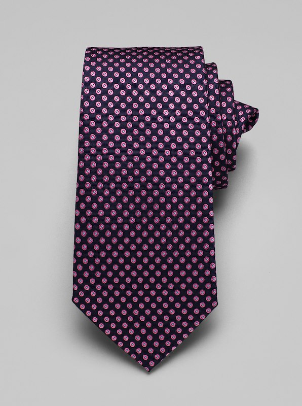 Multi Dot Tie - Berry