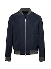 Navy Tech Flight Jacket