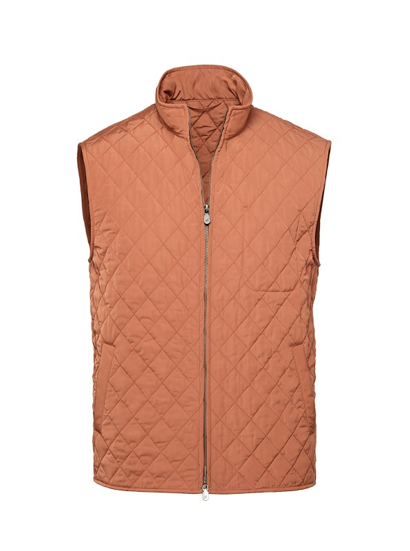 Clay Tech Quilted Vest