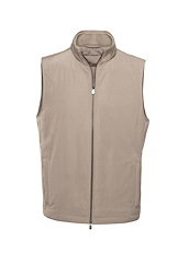 Taupe Matte Polyester All Season Vest
