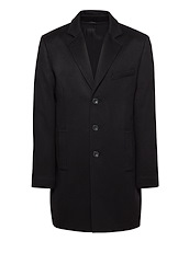 Black Cashmere Top Coat