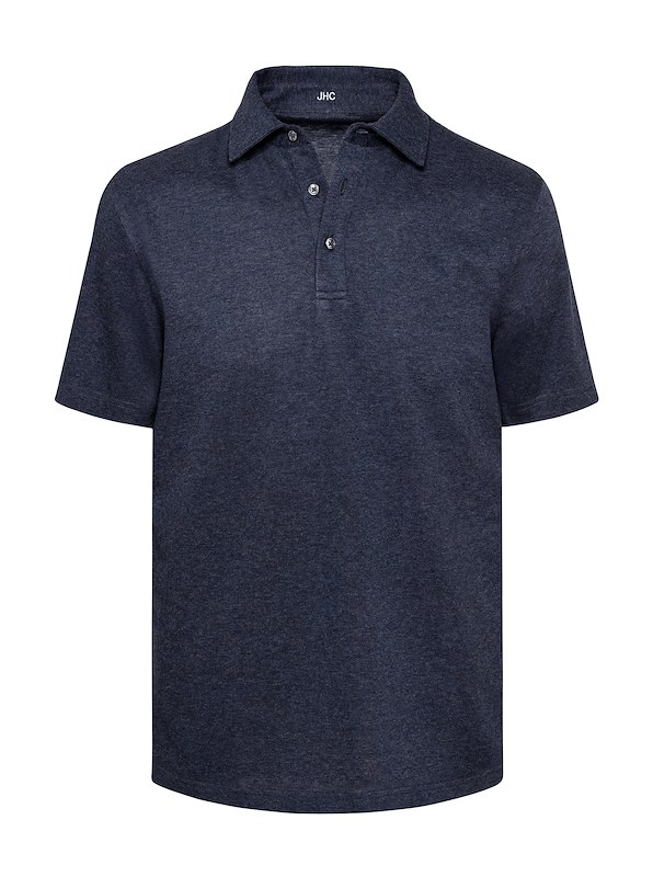 Navy Brushed Jersey