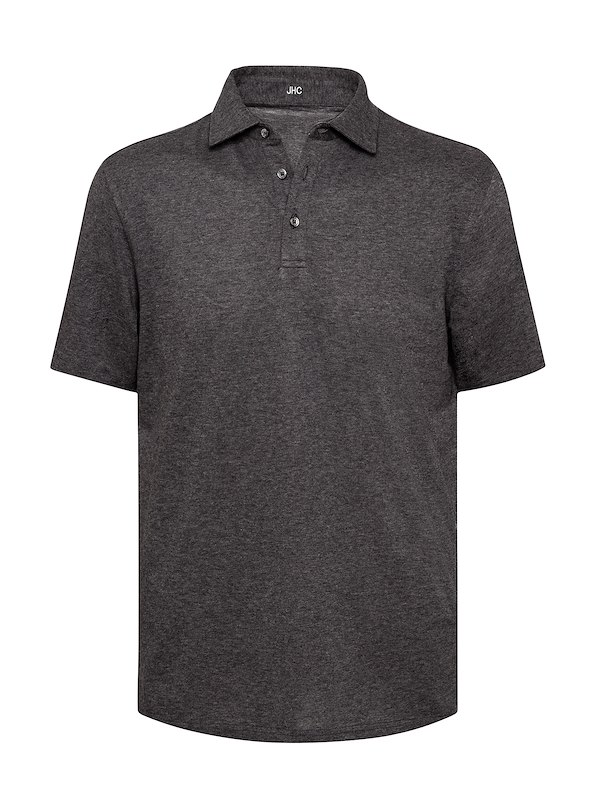 Charcoal Brushed Jersey