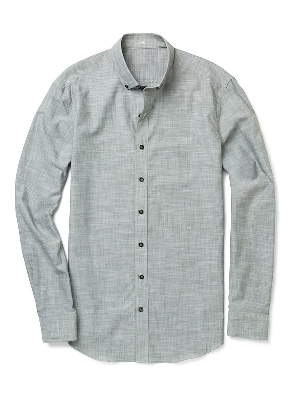 Olive Solid Chambray