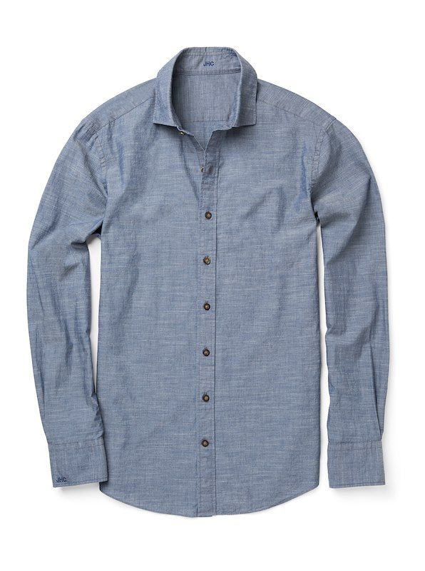 Blue Chambray End on End