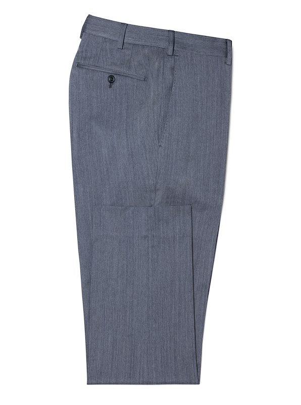Ocean Blue Chambray Stretch