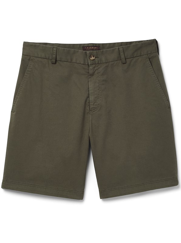 Garment Dyed Short - European Fit - Safari Green