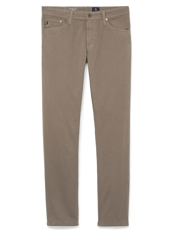 AG Graduate-Sueded 5-Pocket - Forest Brown