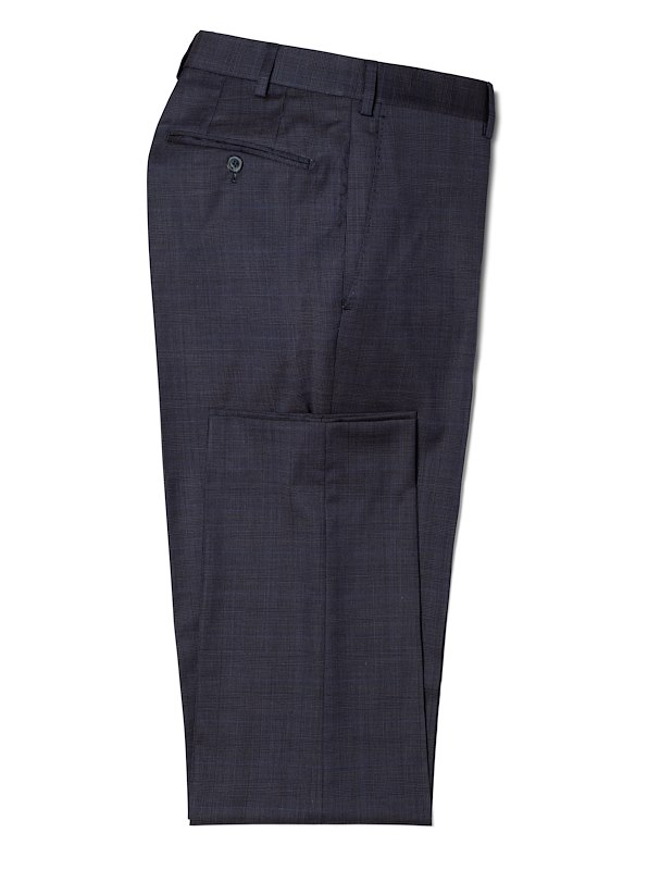 Deep Navy Estrato Glen Plaid