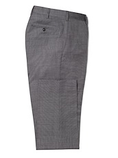 Slate Grey Houndstooth Stretch