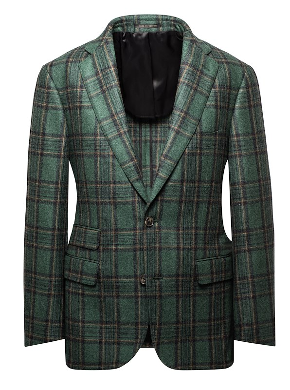 Green Holiday Plaid