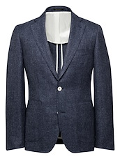 Deep Sea Blue Wool/Linen