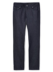 Blue Trofeo Wool Twill 5-Pocket
