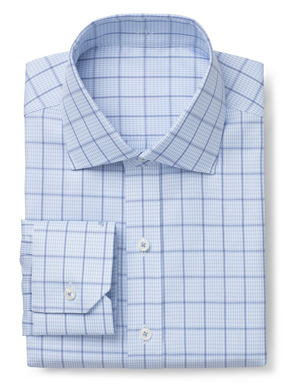 Blue Twill Multi Gingham